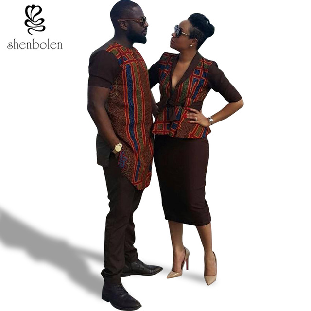 91a2425cc12 shenbolen Africa Clothing For Women And Men fashion African men's  tops+pants lady top+