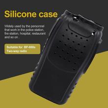 Ручной мягкий силиконовый чехол Защитный чехол для Baofeng BF888S OX Радио Walkie Talkie