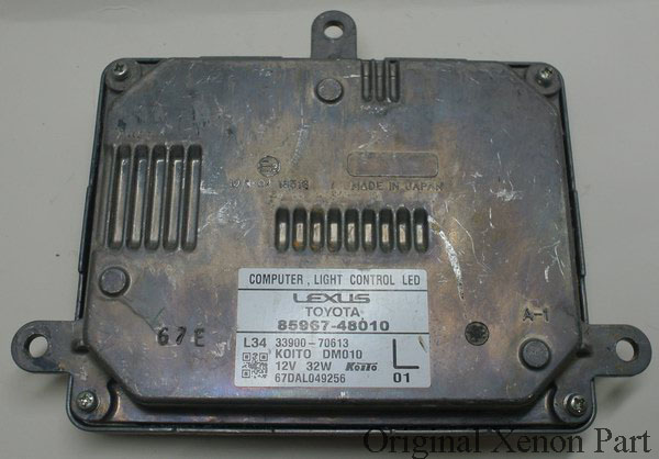 Used original ballast healight computer light control LED LEFT side 85967 48010 L01