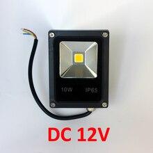 DC12V 10 W 20 W 30 W 50 W 100 W LLEVÓ la Luz de Inundación LLEVÓ el proyector Blanco/Rojo/azul/Verde/Amarillo Al Aire Libre proyector LED Reflector de la Luz