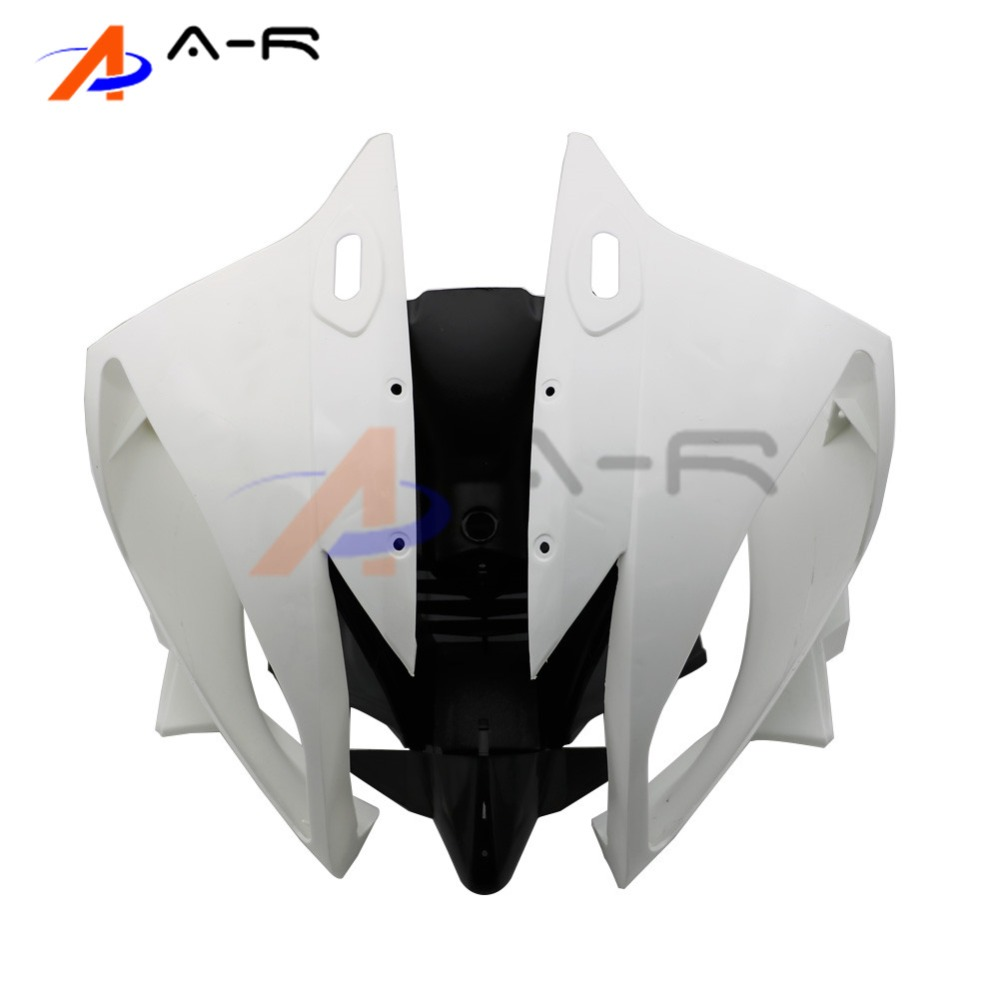 Unpainted ABS Plastic Front Upper Cowl Nose Fairing Bodywork for YAMAHA YZF R6 R600 2006 2007 Injection Mold injection mold unpainted upper front fairing cowl nose fits for suzuki 2006 2007 gsxr 600 750 k6 abs