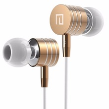 Hot Sale 3.5mm Metal Headsets Earphones Headphone Super Bass Stereo Earbuds with Mic for mobile phone MP3 MP4 I7