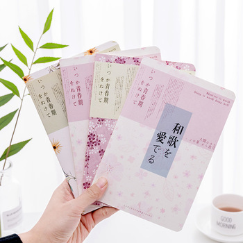 Hot sale  South Korea Stationery 32k Small fresh Cute 32k Diary Book Cute Soft copy Notebook Notebook A5T  mix color 60 pages plan