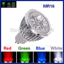 5w magic wholesale light bulb lamp green/red/blue/RGB/yellow mr16 gu10 gu5.3 e27 spotlight 220v for christmas/bar(China)