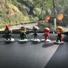 Cartoon Plastic Avengers Iron Man Batman Superman Car Suppli