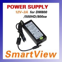 1 unid adaptador de fuente de alimentación adaptador de ca para 800se S DVB-RECEPTOR 800c 800-C DVB-C dm800hd DM500HD receptor de satélite del poste del envío