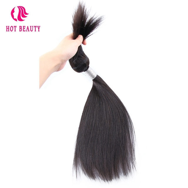 Hot Beauty Hair Brazilian Straight Hair Braid In Bundles 1 Piece 10