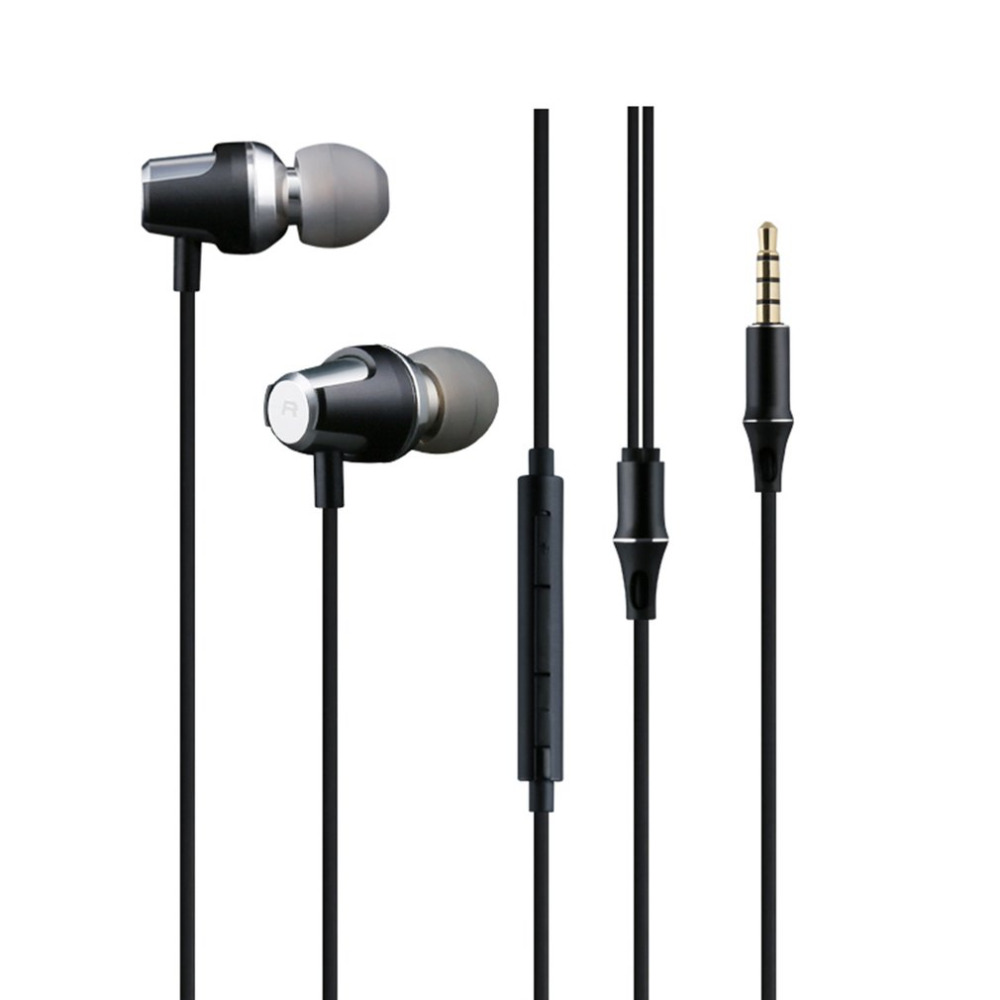 Fashion In-ear Earphones 3.5mm Wired Earphone Stereo Super Bass Music Headset Answering Call For Mobile Phone