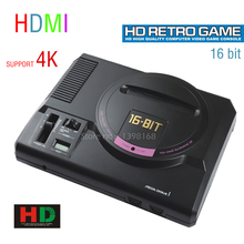 16 Bit Sega MD video game console 720P out put/ Support put card/ Arcade Classic collection