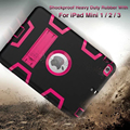 Para ipad mini 2/ipad mini 3 caso eva pesado deber A Prueba de Golpes Híbrido Resistente De Goma Impacto Duro Caso de Cáscara Protectora de La Piel