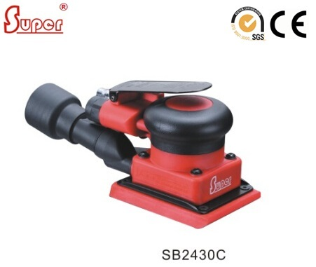 75x100mm Square Air Orbital Sander Buffing Polisher Rectangular Jitterbug Sander CENTRAL VACUUM  Excentric Orbit 3mm (SB2430C)