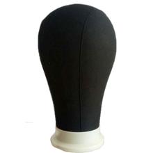Darmowa wysyłka czarny kolor głowa manekina kapelusz wyświetlacz peruka szkolenia głowa model głowa model męska głowa model tanie tanio Wig stojak 20160803 skin color
