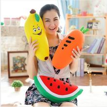 WYZHY Foam Particles Fruit Pillow U-Pillow Two-in-One Plush Toy Home Office Creative Cushion Neck 40CM