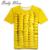 2016 creativo de manga corta ropa de moda 3D Maize Seed patrón joven Tops Super Cool Unisex adolescente camisetas tyh-60589