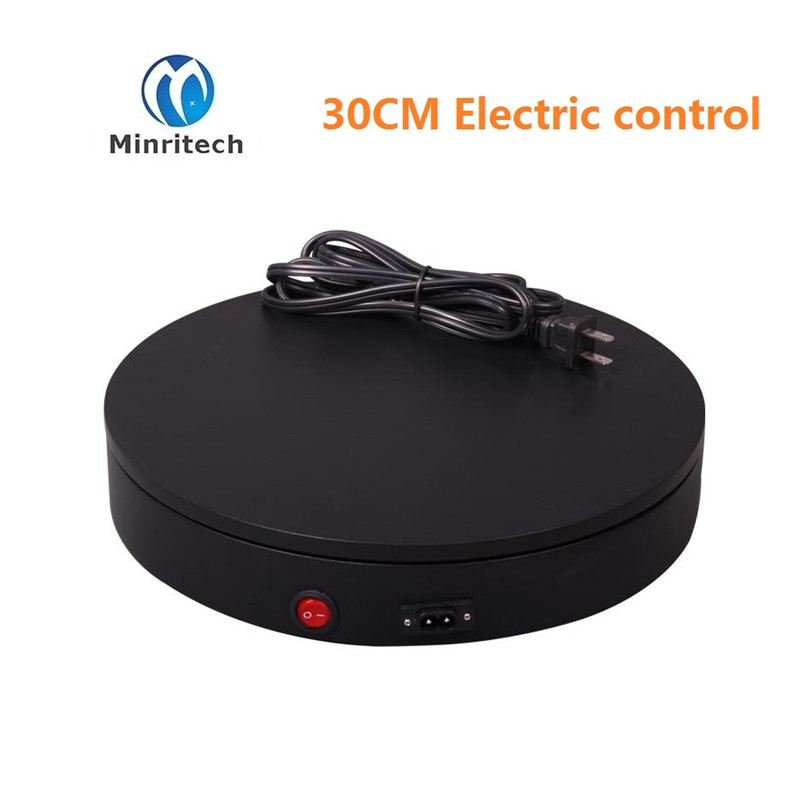 360 Angle 30cm model shows turntable clothing turntable the electric rotary table the window display clothing photography, 60cm clothing display platform of 360 degrees electric rotating speeds control intelligent remote control electric rotary table