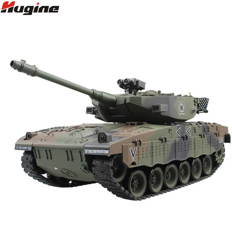RC Tank Israël Merkava Tactische Voertuig Main Battle Militaire Gevechtstank Model Geluid Terugslag Elektronische Hobby Speelgoed
