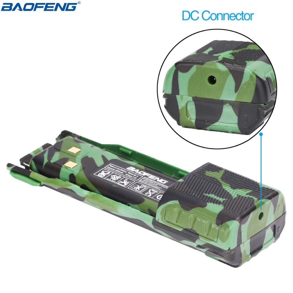 Image 3 - Baofeng UV 82 camo Walkie Talkie 8Watt powerful UHF VHF Dual Band  3800mAh 10KM Long Range UV 82 for hunting hiking Two Way RadioWalkie  Talkie