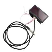 Электронный термометр с цифровым дисплеем DS18B20 модуль датчика температуры DIY Kit Электронные измерительные приборы