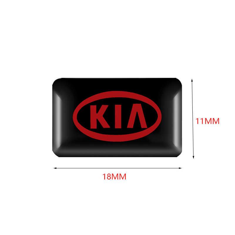 10 قطعة سيارة التصميم ديكورات ثلاثية الأبعاد ملصقات الشارات شعار شارة لكيا K2 K3 K5 سورينتو سبورتاج ريو الروح الشارات اكسسوارات السيارات