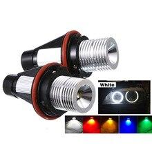 2 шт. светодиодный автомобилей головной светильник Ангел глаз светильник для BMW E39 E53 E60 E61 E63 E64 E65 E66 E83 E87 525i 530i xi 545i M5 стайлинга автомобилей