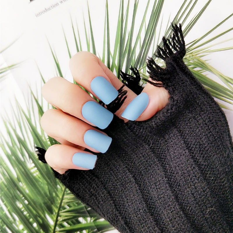 Compra red matte false nails y disfruta del envío gratuito en ...