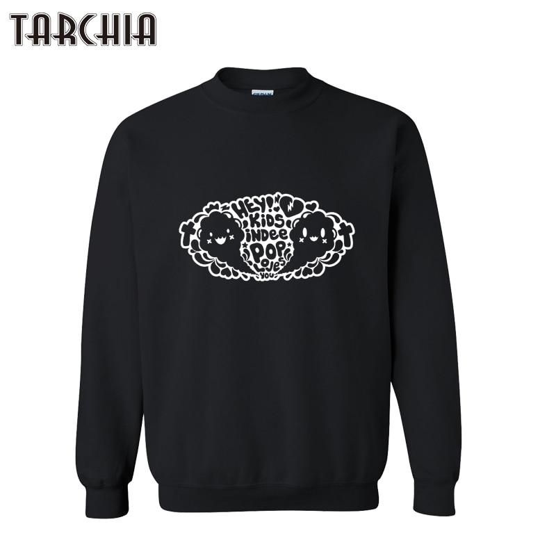 TARCHIA 2019 New Fashion Spring Winter Mens Streetwear Sweatshirt Cute Printed Casual Pullover Hoodies Sweatshirts Plus Size XXL