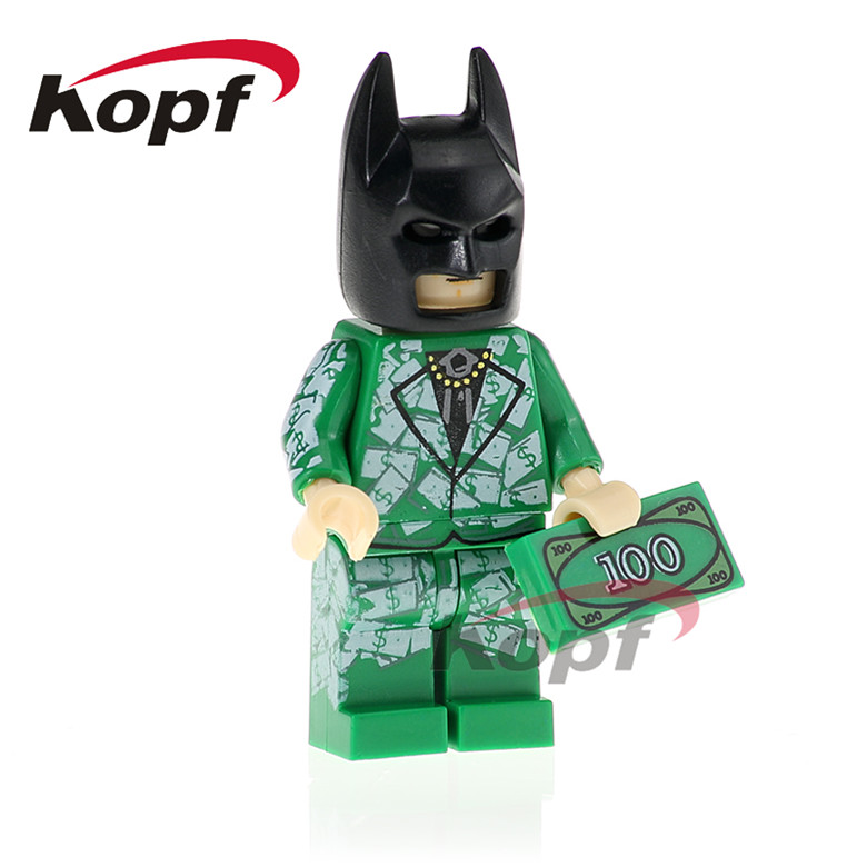 20Pcs PG418 Building Blocks Batman Killer Moth Apache Chief Green Arrow Super Heroes Dolls Model Bricks Best Children Gift Toys