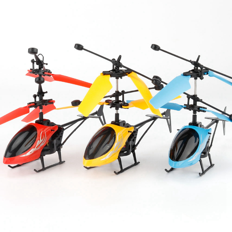 LED Kids Baby Flying Mini RC Infraed Induction Helicopter Aircraft Flashing Light Toys Children Gifts High Quality