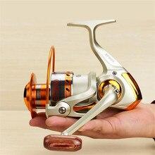 Super Deal Metal Spinning Sea Fishing Reel EF500 1000 2000 3000 4000 5000 6000 7000 8000 9000 Sea Fishing Reel Tackle