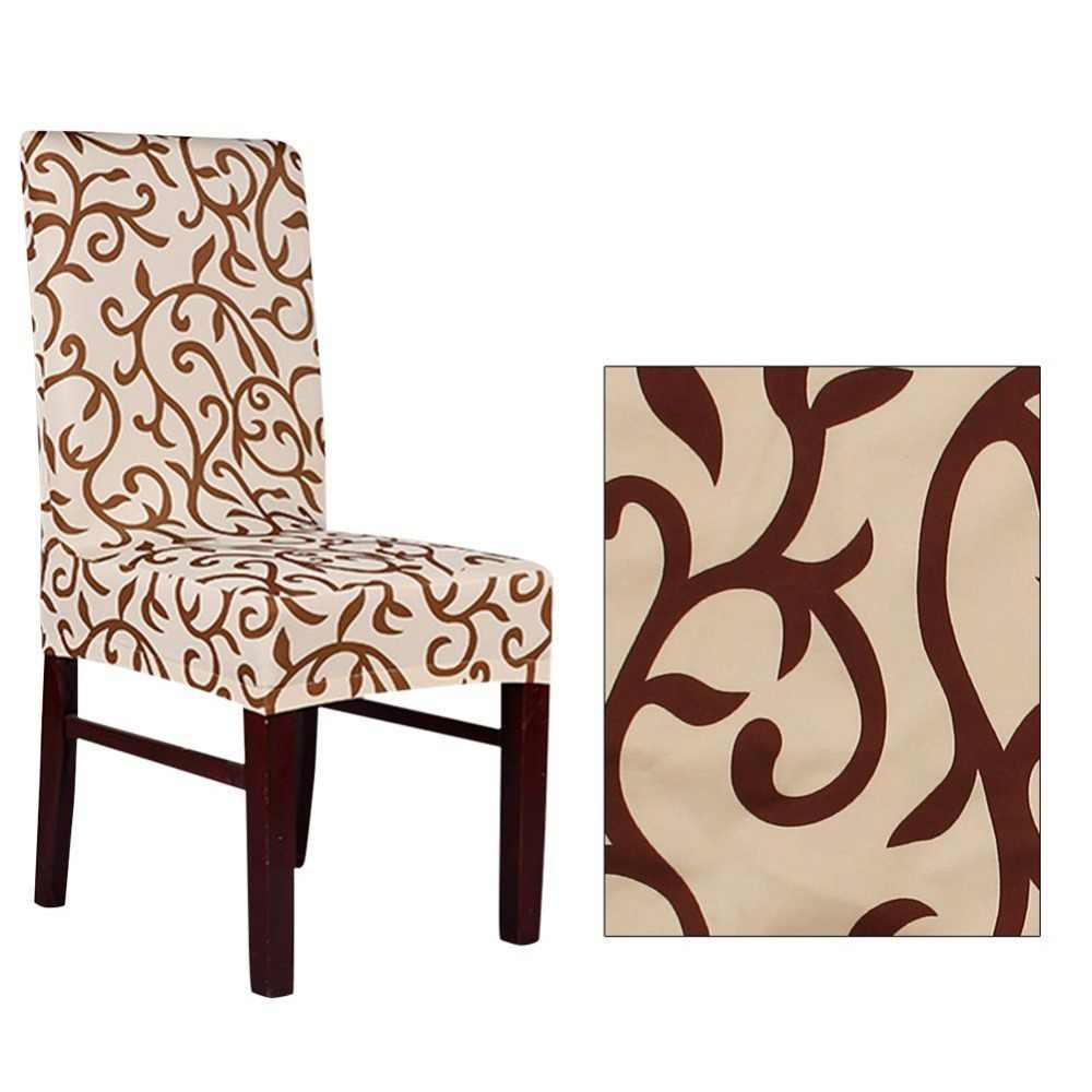 Meijuner цветок печати съемный стул крышка большой эластичный Modern современный чехол для кухонного стула чехлы на кресла стрейч для банкета