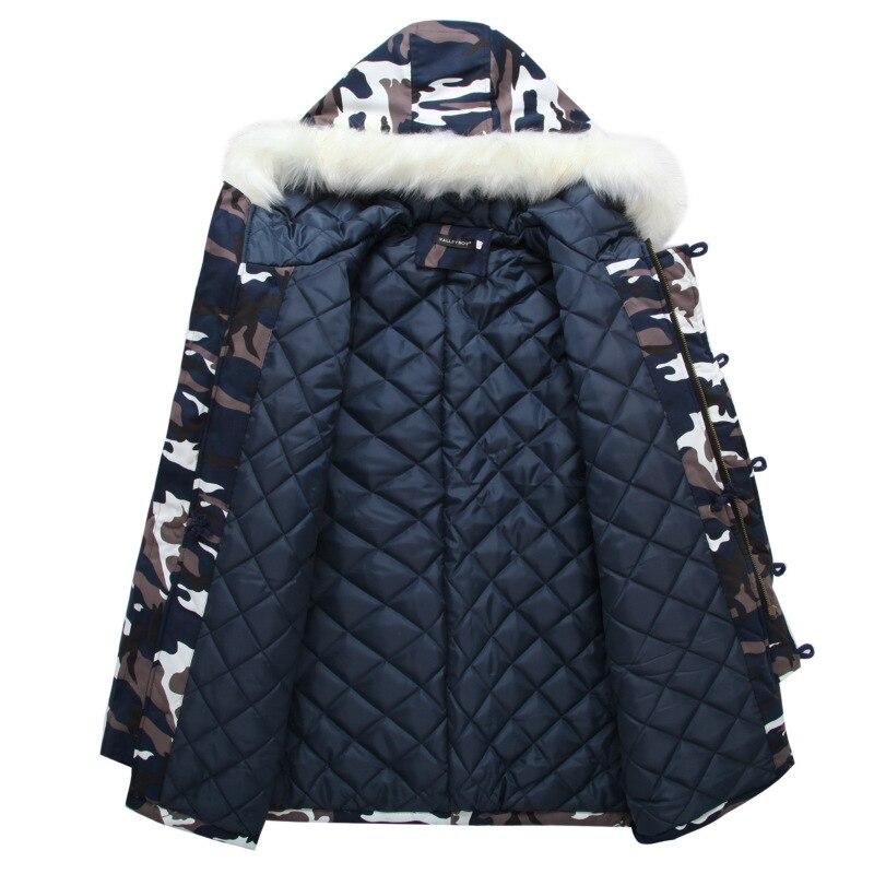 coats thick mens fur hooded jacket original parka coats for men ...
