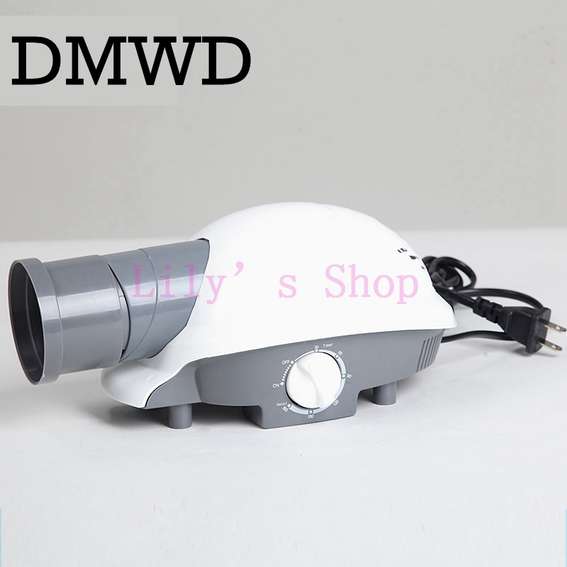 DMWD MINI portable household clothes dryer laundry hot air blower baby cloth Warmer Garment warm wind drying machine 110V 220V gliss kur бальзам million gloss ослепительный блеск для тусклых и лишенных блеска волос 200 мл