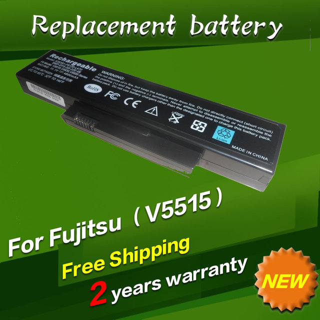 Smp-efs-ss-22e-06 fox-e25-sa-xxf-04 jigu bateria do portátil para fujitsu esprimo mobile v5515 v5535 v5555 v6515 para amilo la1703