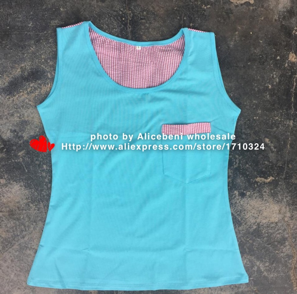 mommy and me Seersucker Monogram Triblend knit cotton Blank teenage children girls kid Seersucker Racerback Tank top