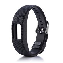 Wristband Replacement Soft Silicone Watch Band Strap For Garmin Vivofit 4 Activity Tracker 1ew