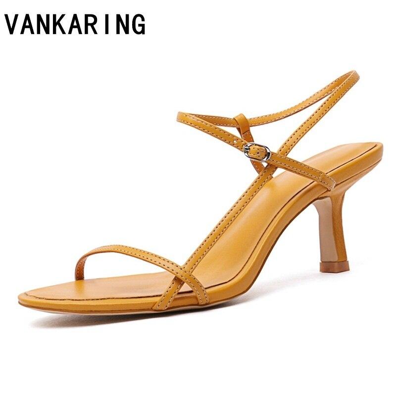yellow luxury shoes women designer women shoes black summer sandals women brand ladies sexy open toe