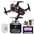 RTF FPV QAV250 OCDAY RC180 Corrida de Fibra de Carbono Quadcopter + Controlador + Bateria