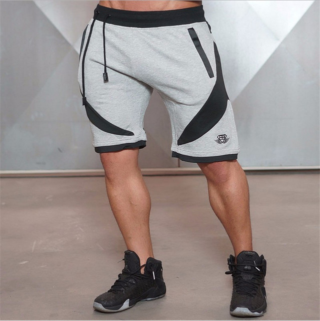 2017 NEW Summer Mens Shorts Sporgymt Casual Short brand clothing boys Shorts Men Jogger Trousers Knee