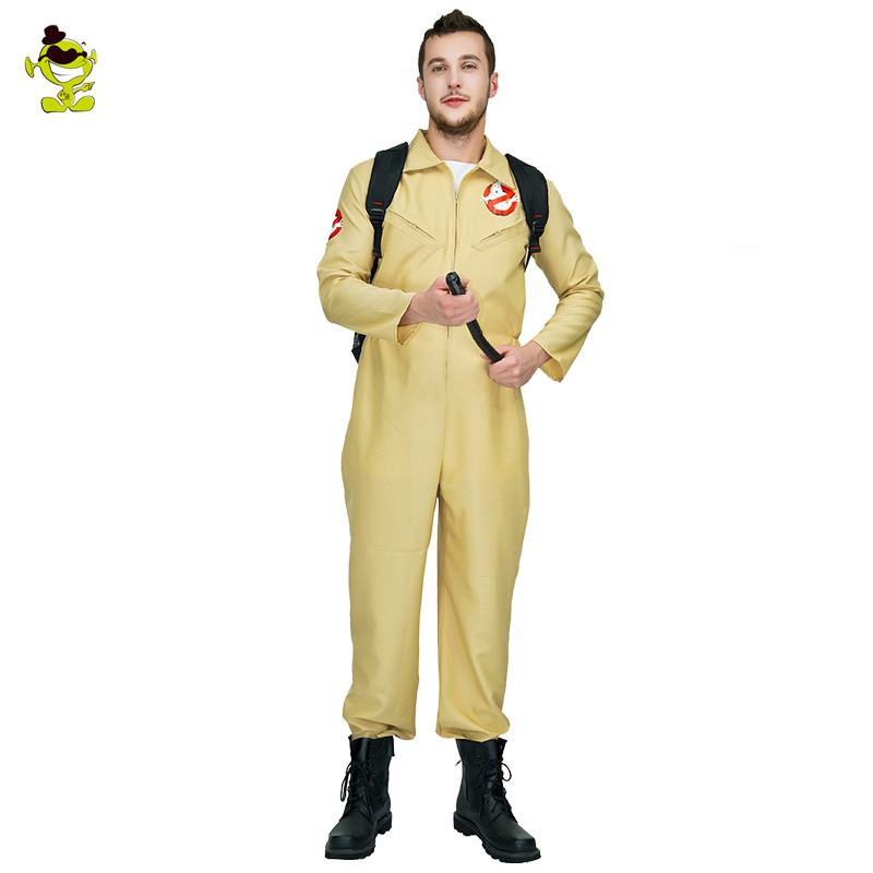 Image 2 - Men's Ghostbusters Cosplay Costume Ghostbusters Uniform Jumpsuits For  Carnival Party Role Play Ghostbuster Costumes-in Movie & TV costumes from Novelty & Special Use