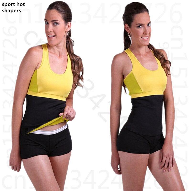 Hot Shapers women Fitness Neoprene waist tummy trainer waist cincher font b weight b font font