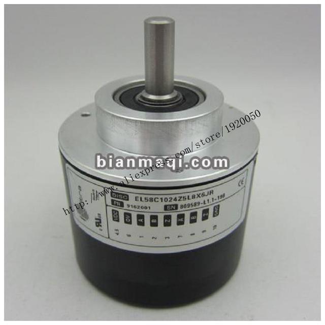 EL58C1024Z5L8X6JR significado Seúl disco suministro de codificador rotatorio/diámetro del eje 8mm/1024