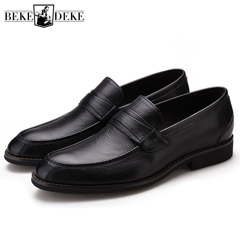 Men Casual Moccasins Real Cow Leather Soft Outsole Comfortable Loafers Shoes Men Slip On Driving Flat Boat Shoes Zapatillas цена в Москве и Питере