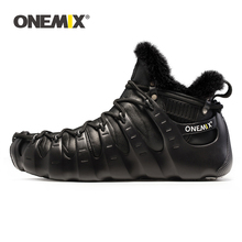 ONEMIX Winter Boots For Men Walking Shoes For Women
