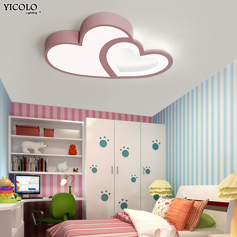 Remote Control Dimming Ceiling Lights For Baby Bedroom