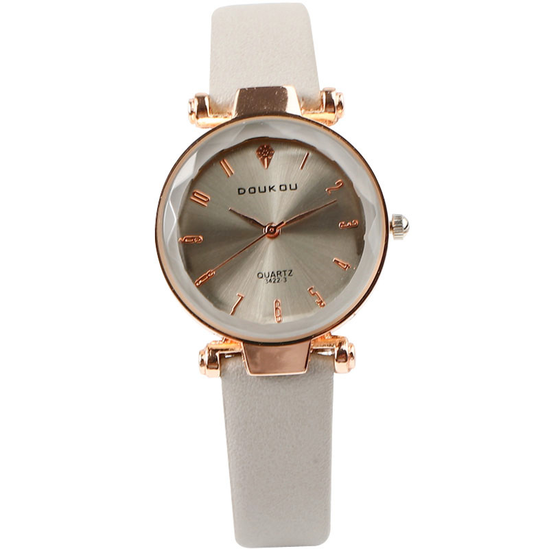 2018 DOUKOU Brand Women's orologio da polso Relogio Fashion Casual Leather Watch Quartz WristWatches Clock saat bayan kol saati