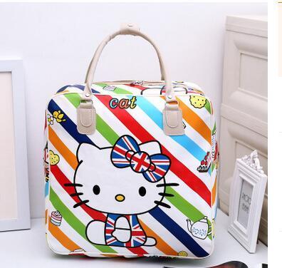 Nowa torebka Hello kitty torebka na ramię torebka podróżna kosmetyczka yey 210