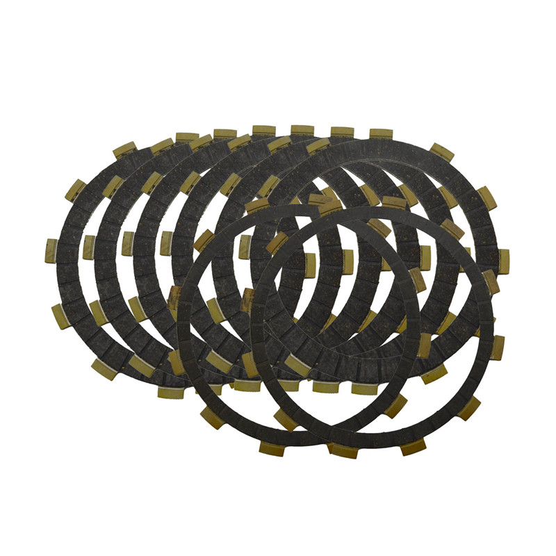 Motorcycle Engine Parts Clutch Friction Plates Kit For Yamaha XJR1200 XJR 1200 1997-1998 #CP-0005 for yamaha xjr1300 1998 2005 2006 2007 2008 2009 2010 xjr1200 1994 1997 xjr 1200 1300 motorcycle starter engine cover crankcase