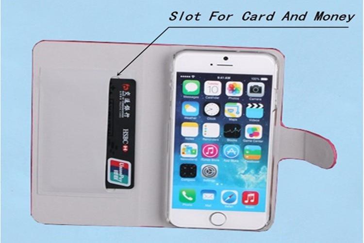 Hot Sale Luxury Flip Magnetic Case För Lenovo Vibe C2 K10A40 5.0 - Reservdelar och tillbehör för mobiltelefoner - Foto 4