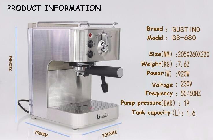 GUSTINO most machine semi-automatic 1