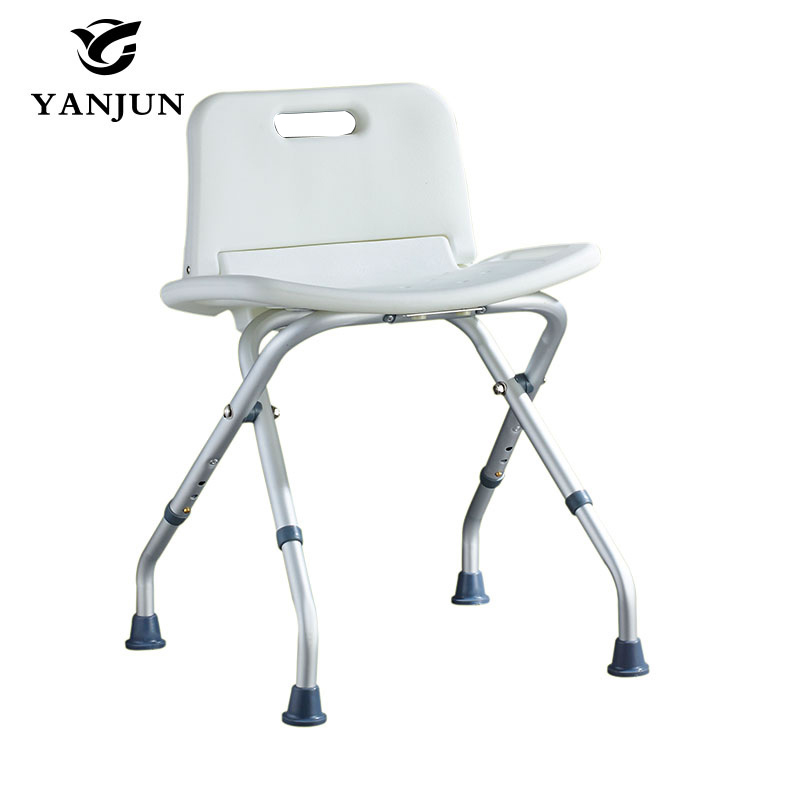 YANJUN Folding  Bath And Shower Seat Shower Bench Bathroom Safety Shower Chair Tub Bench Chair Saving Space  YJ-2038